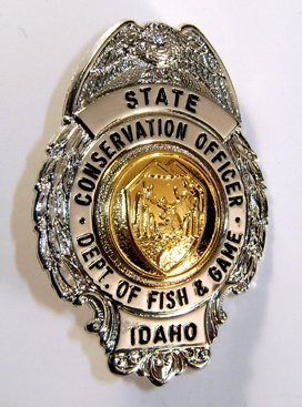 Idaho fish and game patches and badges for Fish and game idaho