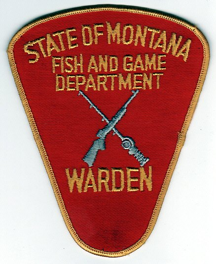 Montana fish game wildlife badges and patches for Department of fish and game